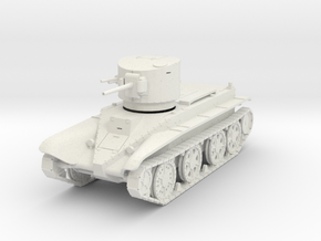 PV193 BT-2 M1932 Fast Tank (1/48) in White Natural Versatile Plastic