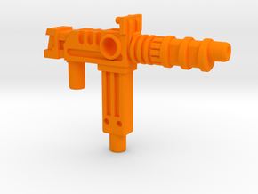 Prime's Photon Bazooka, 5mm Grip in Orange Processed Versatile Plastic