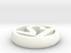 """d2 """"50 / 50"""" in White Processed Versatile Plastic"""