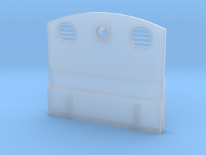 Austerity/J94 Rear Cab Sheet in Smooth Fine Detail Plastic