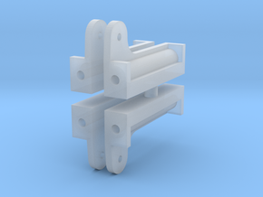 L&Y Bogie upright in Smooth Fine Detail Plastic