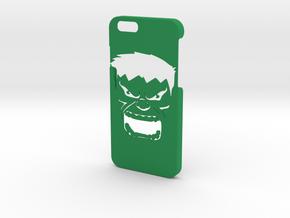 Hulk Phone Case- iPhone 6/6s in Green Processed Versatile Plastic