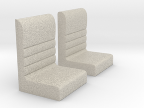Futurliner Seats in Natural Sandstone