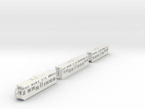 BOB  Bernese Oberland Bahn ABT Swiss HOm in White Natural Versatile Plastic