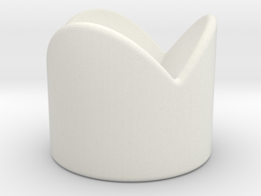 Dice Stand Round in White Premium Strong & Flexible