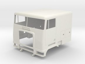 Freightliner Style Cabover in White Natural Versatile Plastic