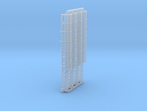 N Scale Cage Ladder 42mm (Top) in Frosted Ultra Detail