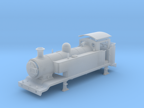 3mm - LB&SCR E2  - EXTENDED TANKS - Body in Smooth Fine Detail Plastic