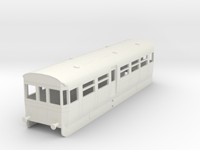 0-87-but-aec-railcar-trailer-coach in White Natural Versatile Plastic