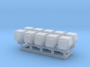 10 ventilation heads_typ2 - 10 Lüfterköpfe in Smooth Fine Detail Plastic: 1:50