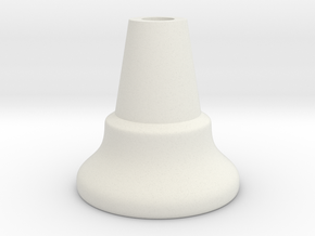 Chess Piece - Pawn (middle) in White Premium Versatile Plastic
