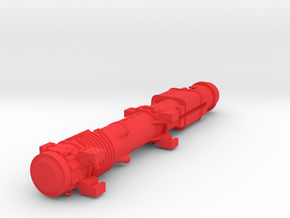 1-50 Dieselhammer D62 for Wesserhutte  in Red Processed Versatile Plastic
