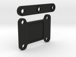 Xray XB2 2mm Trans Shim Kit in Black Natural Versatile Plastic