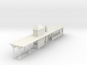 North philly Station canopy rev 18 B in White Natural Versatile Plastic