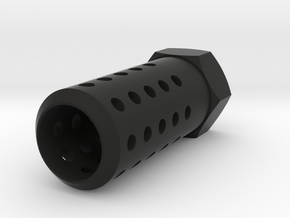 HMP Flash Suppressor (14mm-) in Black Strong & Flexible
