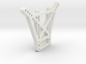 losi xxt rear shock tower in White Natural Versatile Plastic
