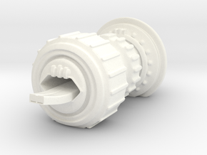 Human Carrier in White Processed Versatile Plastic
