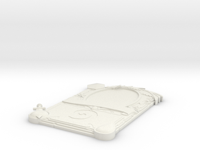 3D Legendary Hearthstone Card in White Natural Versatile Plastic: Medium
