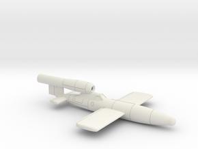 (1:144) Fieseler Fi 103R (Reichenberg) in White Natural Versatile Plastic