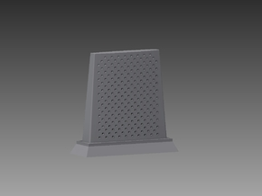 RBU water cooled blast deflector 1/100 in Smooth Fine Detail Plastic