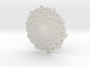 Blossom in White Natural Versatile Plastic