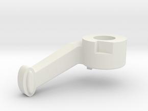 Handle in White Natural Versatile Plastic