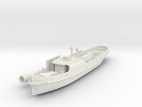 British steam tug Simla 1898 1:200 in White Natural Versatile Plastic
