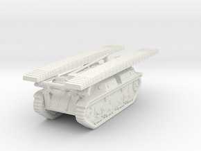 1/144 SS-Ki engineering vehicle in White Natural Versatile Plastic
