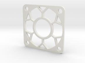 30x30x Fan Guard in White Natural Versatile Plastic