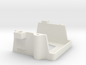 VRC Super Astute - G2 - Battery Holder (Front) in White Natural Versatile Plastic