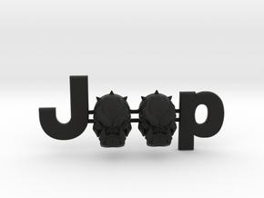 #CuzitsCustom Evil BullDawg Skulls OEM Font in Black Natural Versatile Plastic: Small