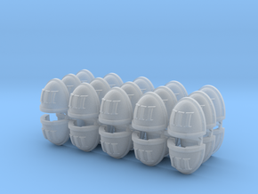 Roman III Shoulder Pads Mk7/8 x30 in Smooth Fine Detail Plastic