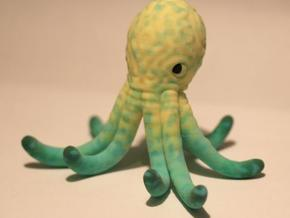 octopus holder2 in Full Color Sandstone