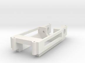 Motor mount / Motorhalter 18D Inliner in White Natural Versatile Plastic