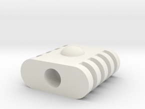 Micro Cessna Rotor Joint in White Strong & Flexible