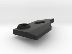 VF-25 Modified Right Shoulder Plate in Black Premium Versatile Plastic