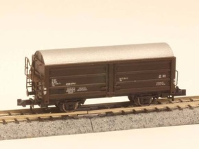 DSB Hs-t, His or Hims In 1:160 N scale in Smooth Fine Detail Plastic