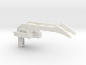 Battle Claw PotP Fist-Plate in White Natural Versatile Plastic: Medium