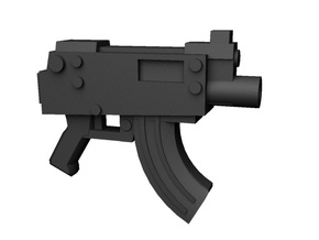 Submachineguns 28mm x10 in Smoothest Fine Detail Plastic