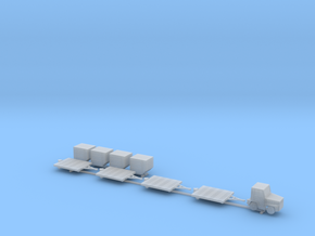 1:150 Air Cargo Set in Smooth Fine Detail Plastic