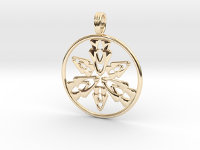 DANCING SPIRIT in 14K Yellow Gold