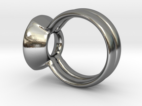 The UP Ring by CREATURE DESIGNS in Polished Silver