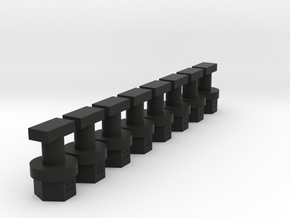 greenhouse fastener in Black Strong & Flexible