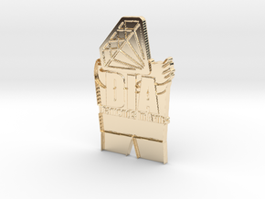 Creator Pendant in 14K Gold