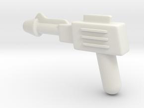 MOTU replacement pistol for Castle Grayskull in White Premium Versatile Plastic