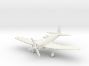 Mitsubishi A7M2 Reppu (With Landing gear) 1/100 in White Natural Versatile Plastic