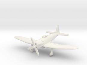 Mitsubishi A7M2 Reppu (With Landing gear) 1/144 in White Natural Versatile Plastic