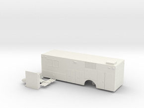 1/87 Rosenbauer HazMat Command body in White Natural Versatile Plastic