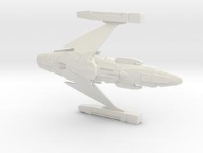 Romulan Z-1 Nova Battleship 1:3125 in White Natural Versatile Plastic
