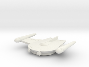 3788 Scale Romulan Pioneer Eagle MGL in White Natural Versatile Plastic